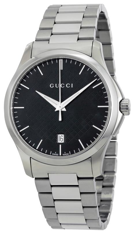 Gucci G-Timeless YA126457 Svart/Stål Ø38 mm - Gucci