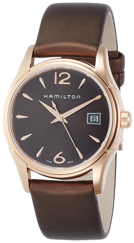 Hamilton Jazzmaster Damklocka H32341975 Brun/Satin Ø34 mm - Hamilton