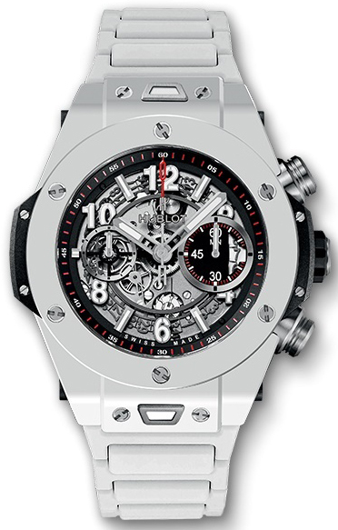 Hublot Big Bang 44.5mm Herrklocka 411.HX.1170.HX Skelettskuren/Gummi - Hublot