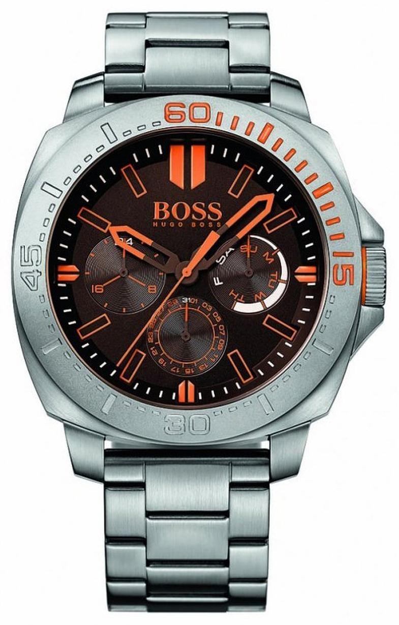 Hugo Boss Sao Paulo Herrklocka 1513299 Brun/Stål - Hugo Boss
