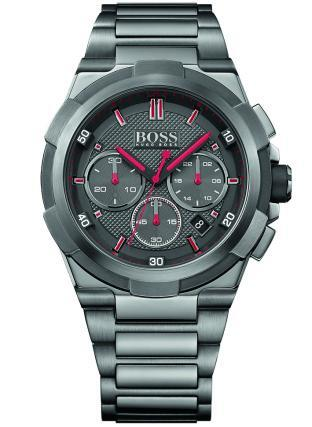 Hugo Boss Supernova Herrklocka 1513361 Grå/Stål Ø45 mm - Hugo Boss