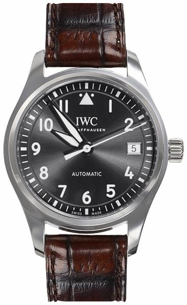 IWC Pilots Classic Damklocka IW324001 Grå/Läder Ø36 mm - IWC