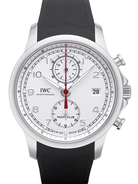 IWC Portuguese Herrklocka IW390502 Silverfärgad/Gummi Ø43.5 mm - IWC