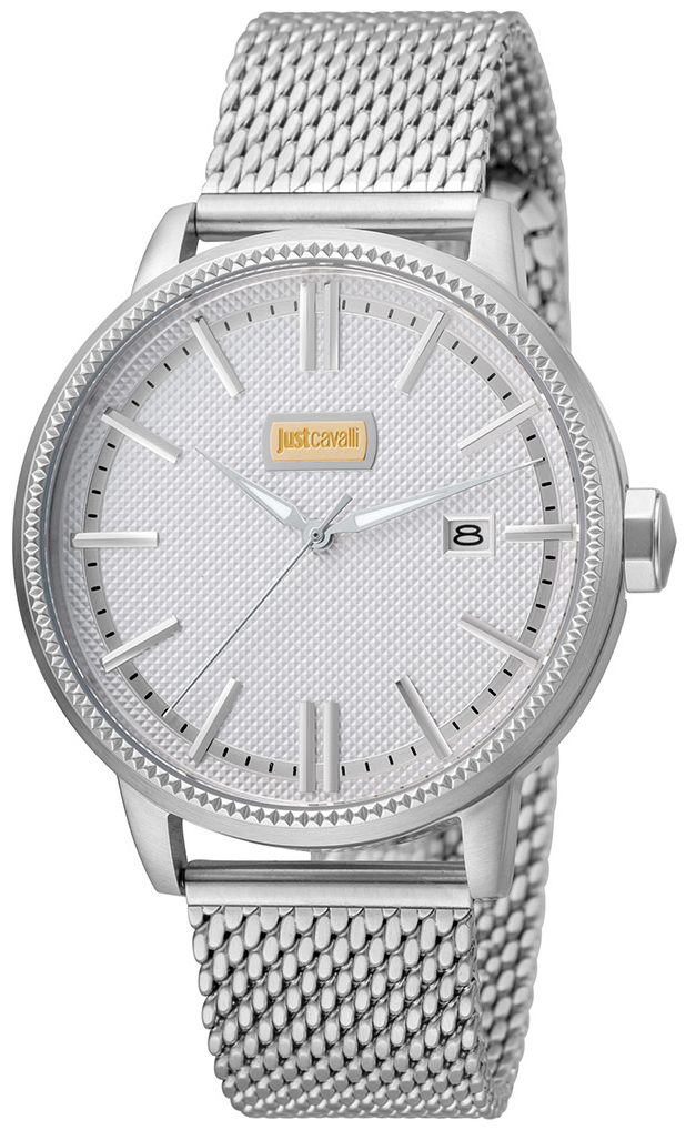 Just Cavalli Relaxed Herrklocka JC1G018M0055 Silverfärgad/Stål Ø42 mm - Just Cavalli