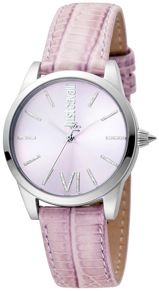 Just Cavalli Relaxed Damklocka JC1L010L0025 Rosa/Läder Ø32 mm - Just Cavalli