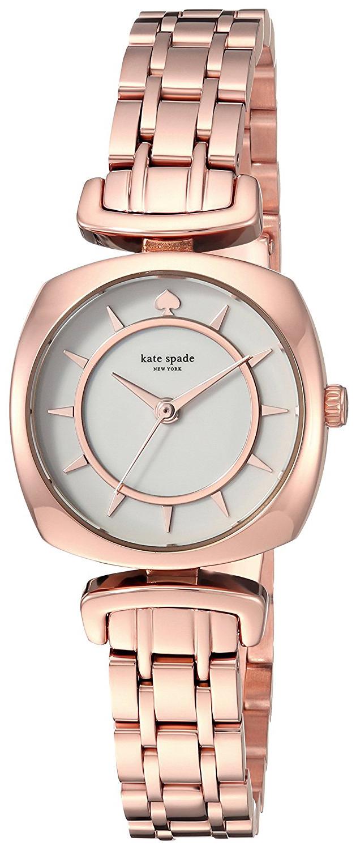 Kate Spade 99999 Damklocka KSW1322 Vit/Roséguldstonat stål - Kate Spade