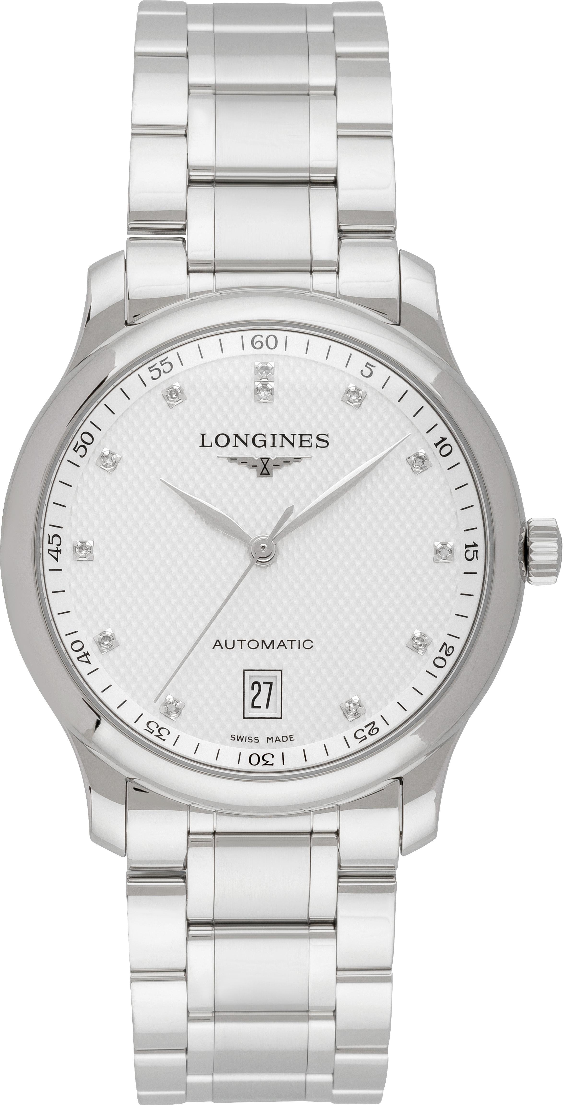 Longines Master Herrklocka L2.628.4.77.6 Silverfärgad/Stål Ø38.5 mm - Longines