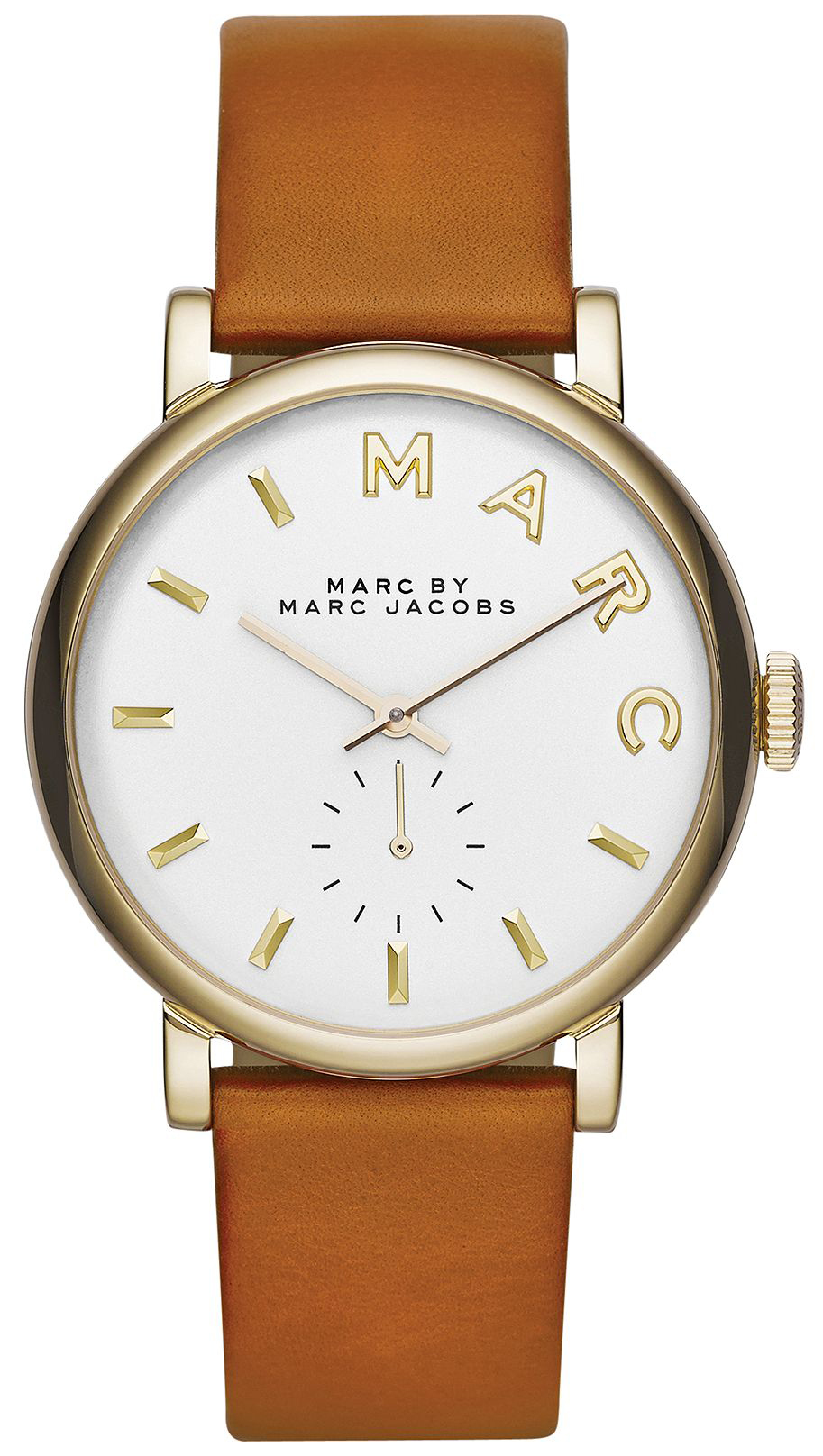 Marc by Marc Jacobs 99999 Damklocka MBM1316 Vit/Läder Ø36 mm - Marc by Marc Jacobs