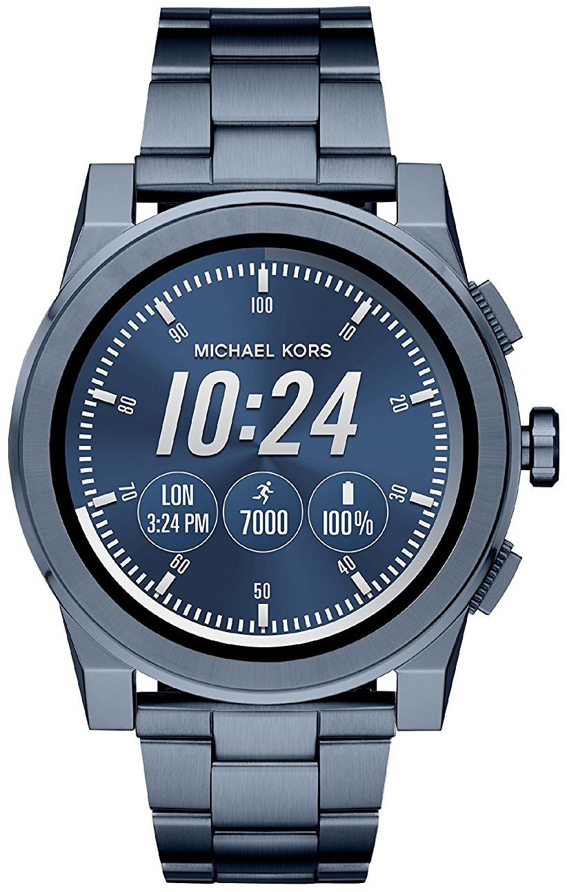 Michael Kors Smartwatch Herrklocka MKT5028 LCD/Stål Ø47 mm - Michael Kors