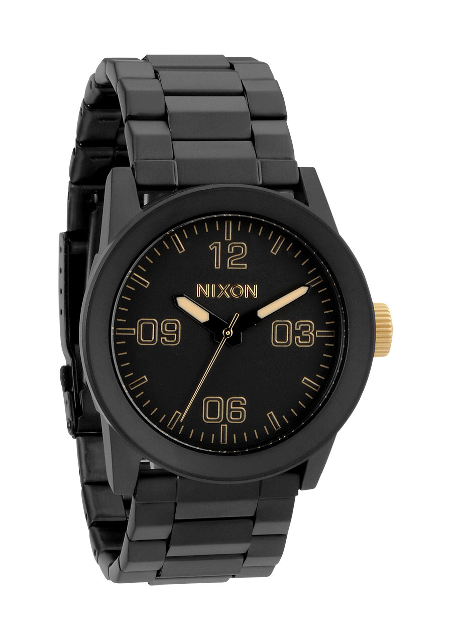 Nixon The Private SS Herrklocka A2761041-00 Svart/Stål Ø42 mm - Nixon