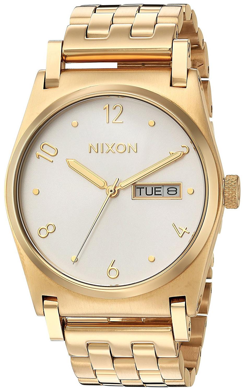 Nixon 99999 Damklocka A954504-00 Vit/Gulguldtonat stål Ø36 mm - Nixon