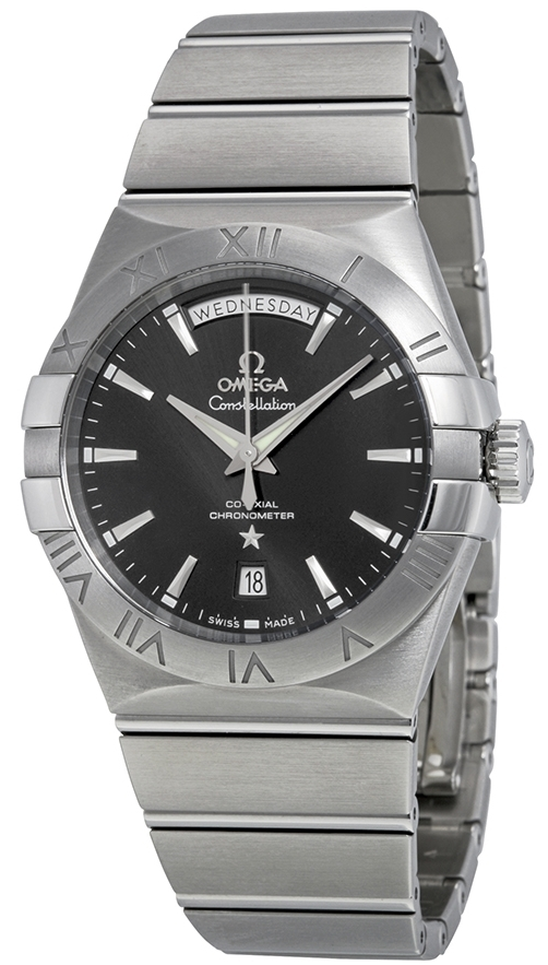 Omega Constellation Co-Axial Day-Date 38mm Herrklocka 123.10.38.22.01.001 - Omega