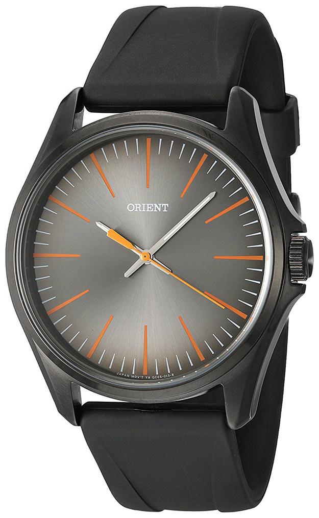 Orient Classic Herrklocka FQC0S00BA0 Grå/Gummi Ø42 mm - Orient
