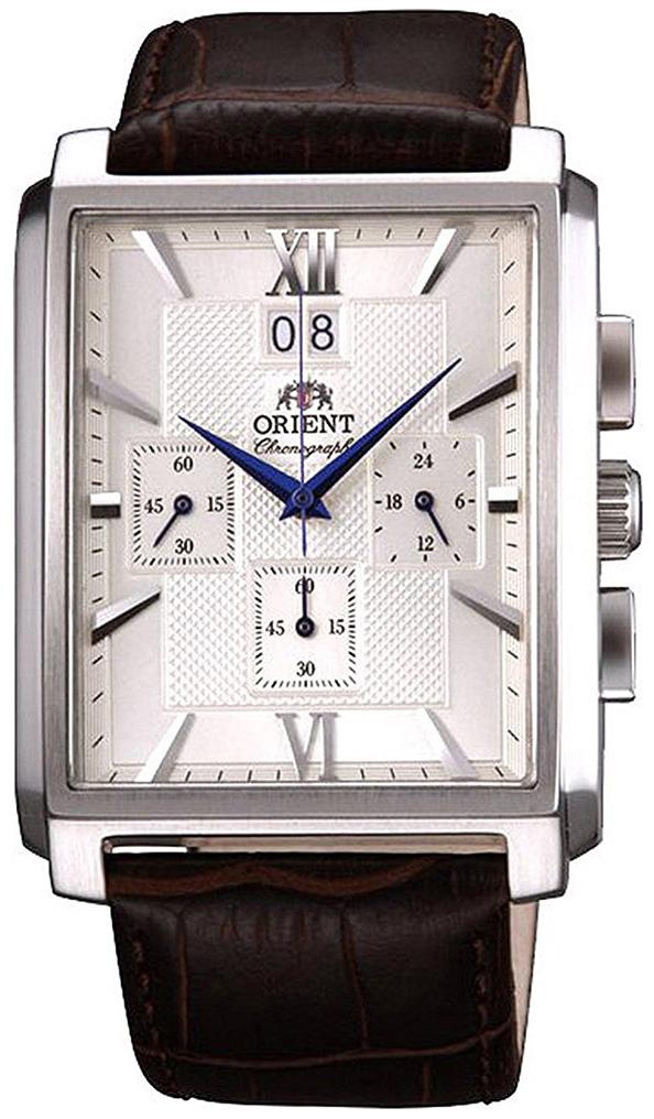 Orient Classic Herrklocka FTVAA004S0 Silverfärgad/Läder - Orient