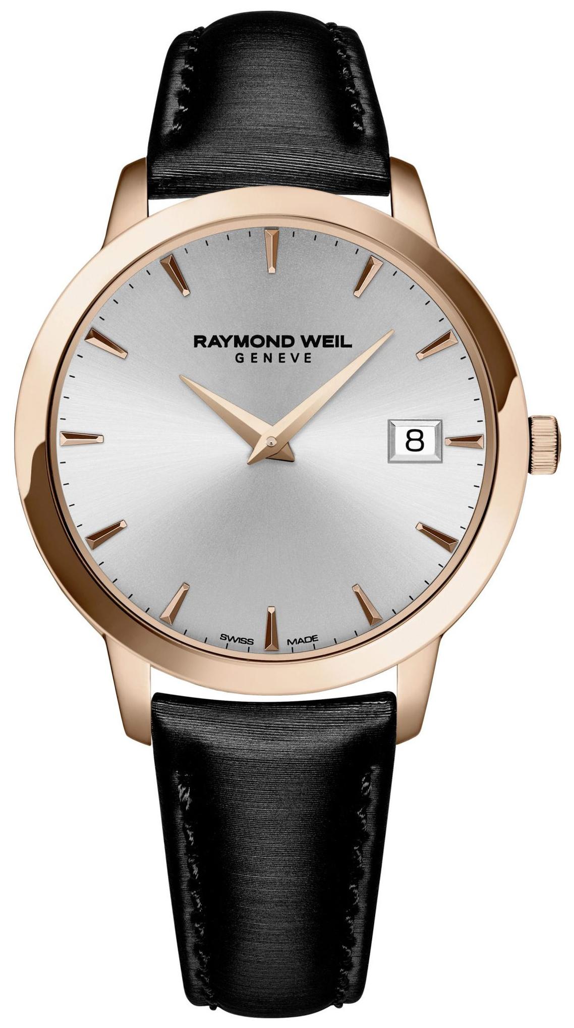 Raymond Weil Toccata Damklocka 5388-PC5-65001 Silverfärgad/Satin Ø34 mm - Raymond Weil