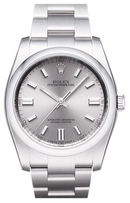 Rolex Perpetual 36 Herrklocka 116000-0009 Silverfärgad/Stål Ø36 mm - Rolex