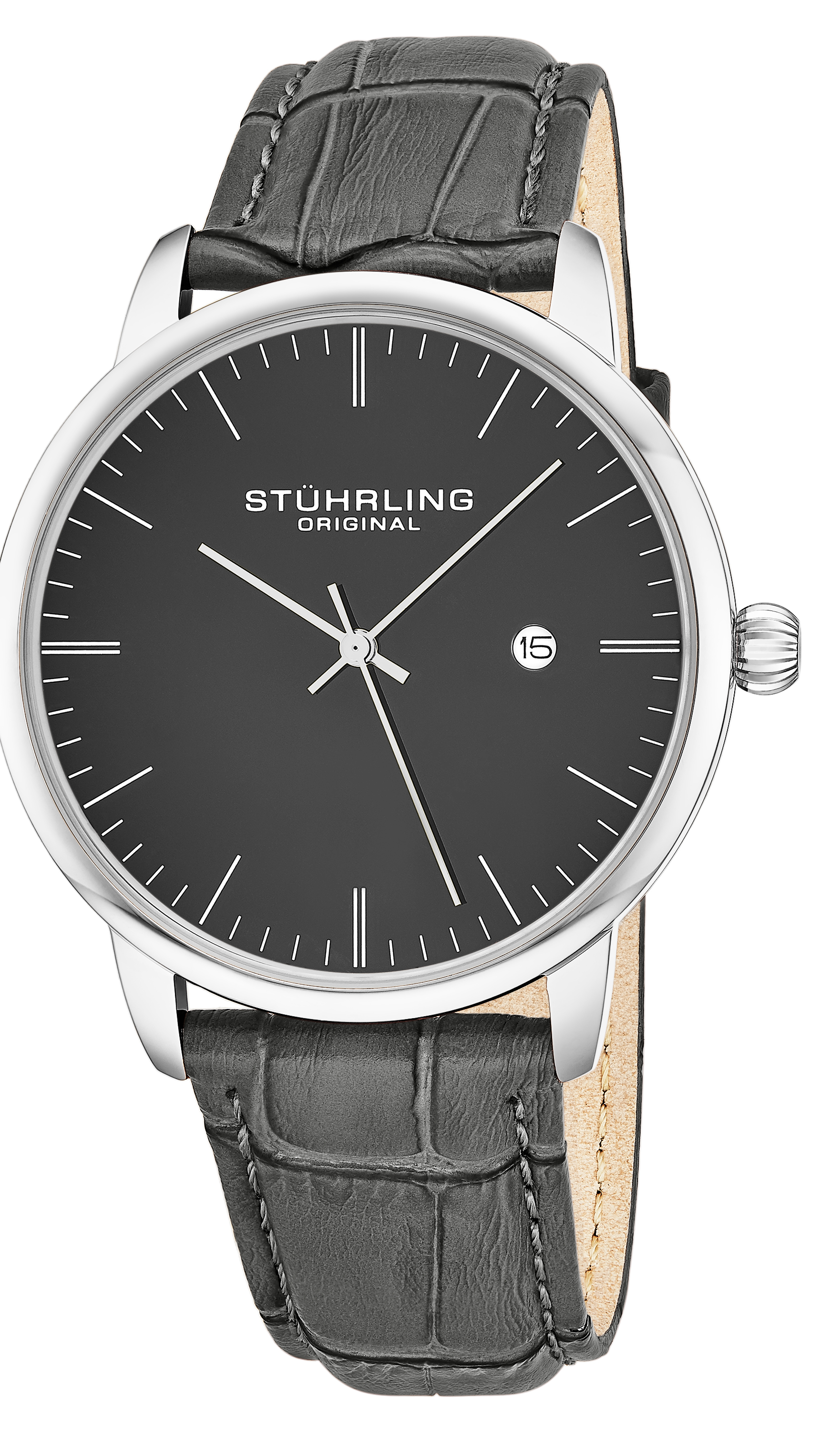Stührling Original 99999 Herrklocka 3997.4 Blå/Stål Ø38 mm - Stührling Original