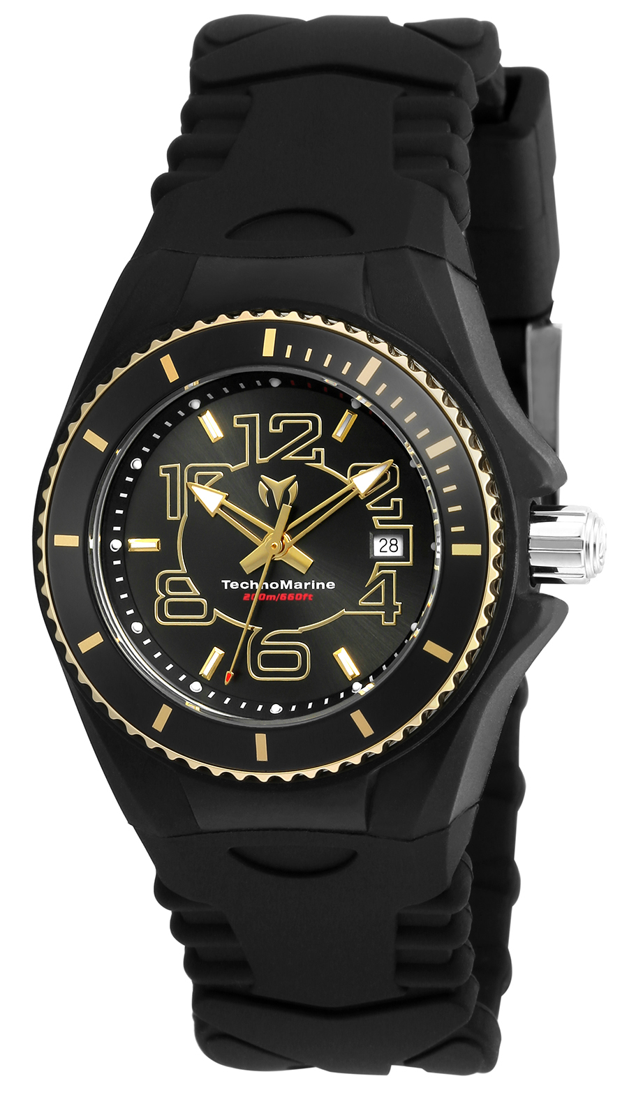 Technomarine Cruise Jellyfish Damklocka TM-115131 Svart/Gummi Ø34 mm - Technomarine