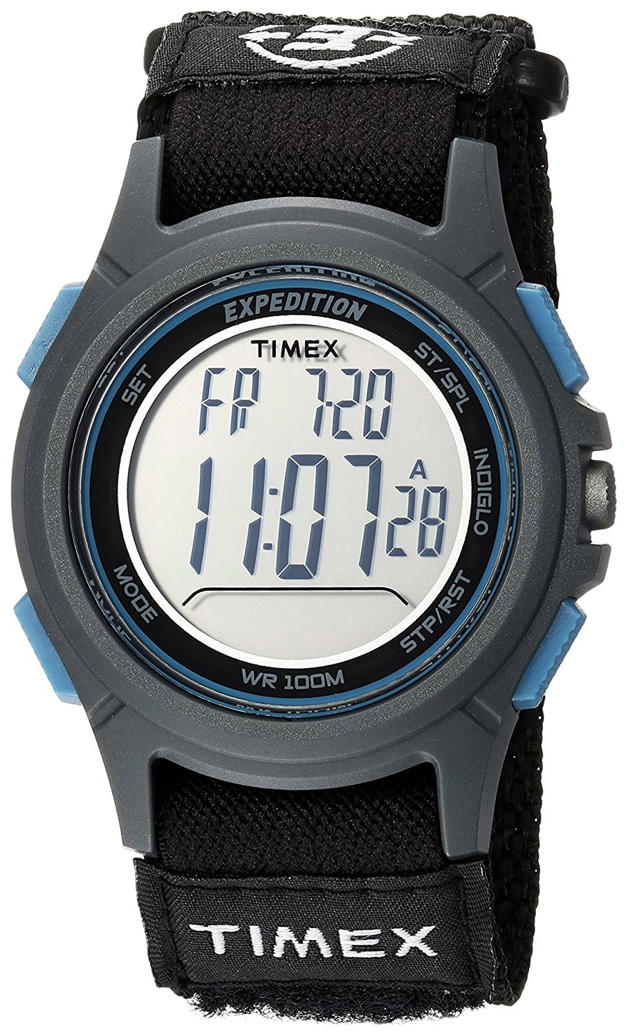 Timex Expedition Herrklocka TW4B10100 LCD/Textil Ø37 mm - Timex