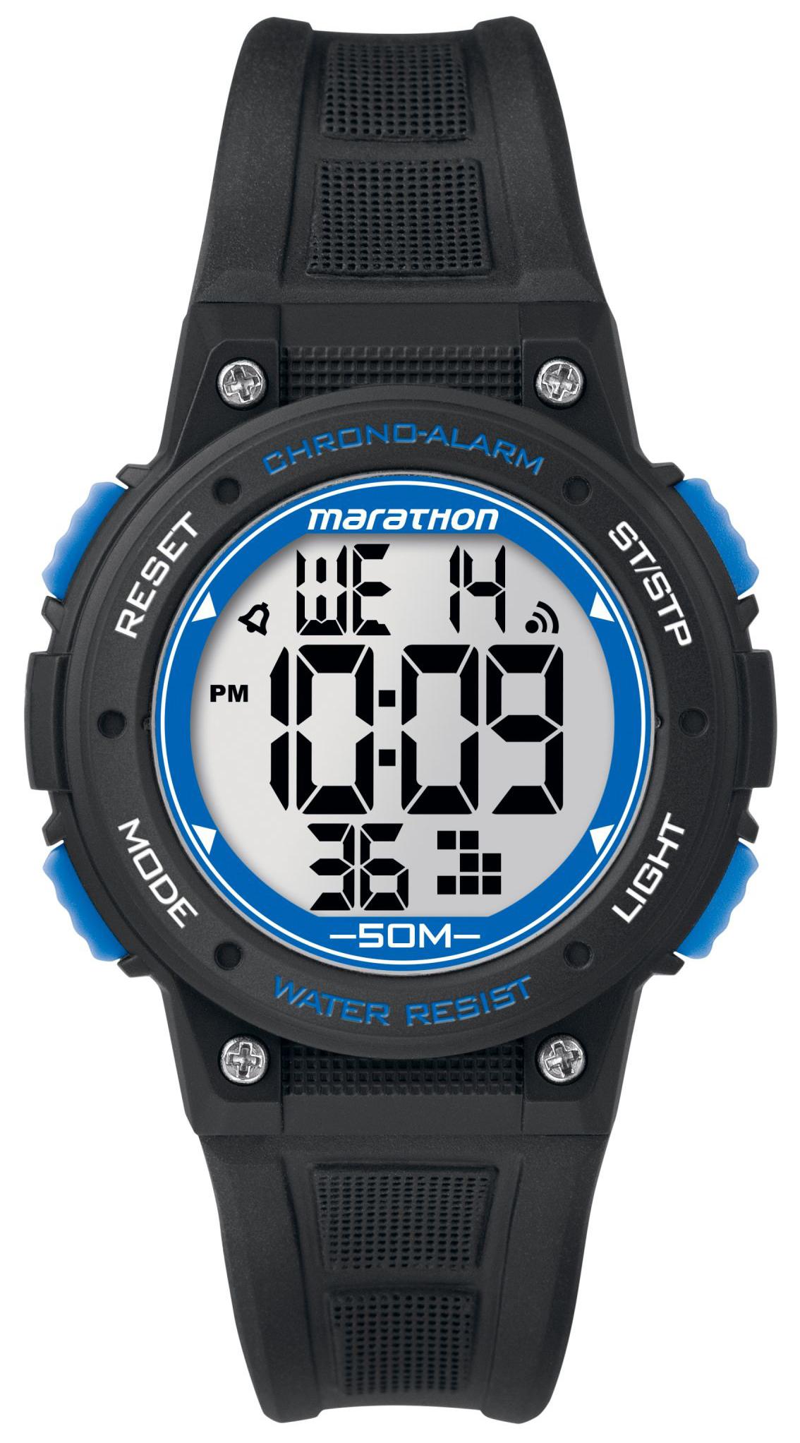 Timex Marathon TW5K84800 LCD/Gummi Ø38 mm - Timex