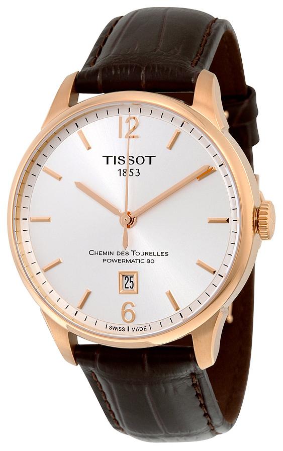 Tissot Chemin Des Tourelles Automatic Gent Herrklocka T099.407.36.037.00 - Tissot