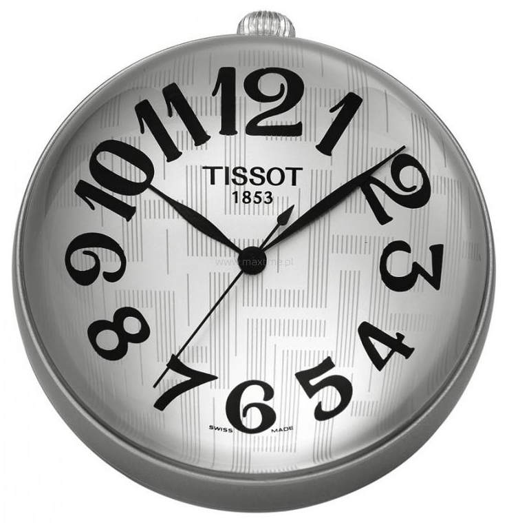 Tissot T-Pocket Specials T82.9.508.32 Silverfärgad Ø57.63 mm - Tissot