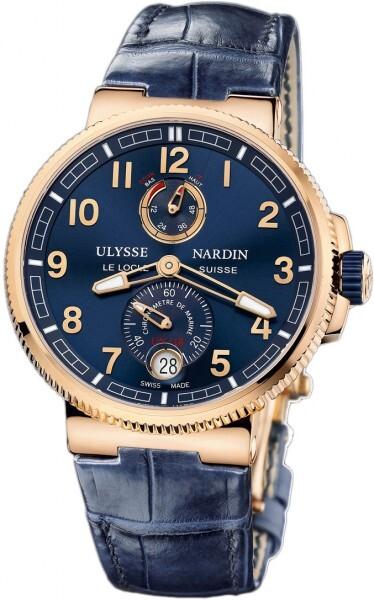 Ulysse Nardin Marine Collection Chronometer Herrklocka 1186-126-63 - Ulysse Nardin
