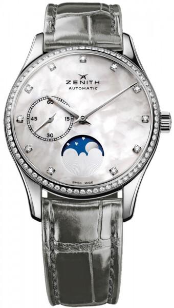 Zenith Heritage Ultra Thin Lady Moonphase Damklocka 16.2310.692-81.C706 - Zenith