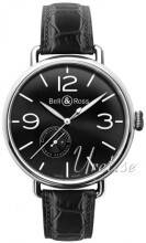 Bell & Ross WW1 Svart/Läder Ø45 mm