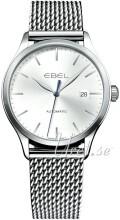 Ebel Classic Silverfärgad/Stål Ø40 mm