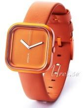Hygge Väri Sunset Orange Orange/Läder Ø33 mm