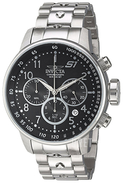 Invicta S1 Svart/Stål Ø49 mm 23079