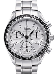 Omega Speedmaster Racing Co-Axial Chronograph 40mm Vit/Stål Ø40 mm 326.30.40.50.02.001