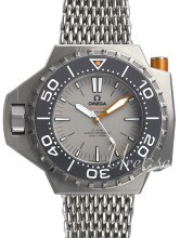 Omega Seamaster Ploprof 1200m Co-Axial Master Chronometer 55x48mm Grå/Titan Ø55 mm
