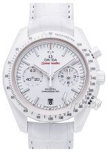 Omega Speedmaster Moonwatch Co-Axial Chronograph 44.25mm Vit/Läder Ø44.25 mm