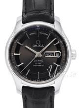 Omega De Ville Hour Vision Co-Axial Annual Calendar 41mm Grå/Läder Ø41 mm