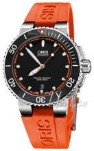 Oris Diving Svart/Gummi Ø43 mm
