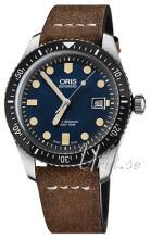 Oris Diving Blå/Läder Ø42 mm