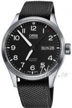 Oris Oris Aviation Svart/Textil Ø45 mm