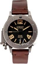 U-Boat U-42 Svart/Läder Ø47 mm